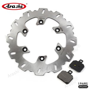 Arashi Rear Brake Disc Rotor and Brake Pads For Ducati ST4S 996 2001 - 2005 2002 2003 2004 Motorcycle CNC Brake Disk Aluminum