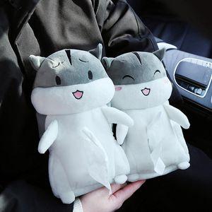 Tissue Boxes & Napkins Cute Hamster Car Holder Napkin Box Backseat Case