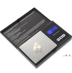 Карманные цифровые весы весовые весы 4 спецификация серебряные монеты золотые алмазные украшения не весит аккумулятор электронные масштабы моря FWC6592