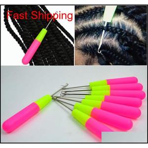 Hook Needles For Hair Weaving Knitting And Crochet Jumbo Braiding Hair Needles Professional Hair Accessor qylkjz hairclippers2011