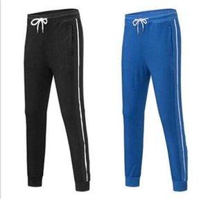 hot sale Mens Joggers pants casual trousers Hip-hop unisex pants Fashion Sweatpants Stripes Panalled Pencil Jogger Pants Asian size 8color
