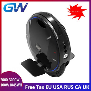 2021 Gotway Nikola Plus Electric Unicycle Upgraded Version 100V 1800wh motor 2500W,Max 55km h+,Off-Road,adultl With Handle Bar