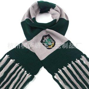 Slytherin College Badge COS Show Harry Potter Punto de acrílico de punto