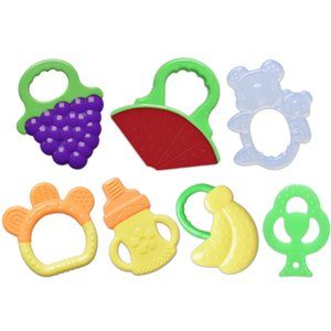 Teethers Silicone Baby Products Chews Molar Sticks Toys Fruit Shape
