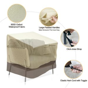 Oxford Cloth Patio Chair Cover Yard Garden Rain Proof Reusable Lounge Outdoor Waterproof Furniture Protection Lawn Heavy Duty