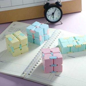 Бесконечные творческие кубики Fidget игрушечные аутизмы антисрезы для стресса Волшебные кубики Office Flip Cubic Cubical Puzzle STOP REVIVER AUTIMS TOYS