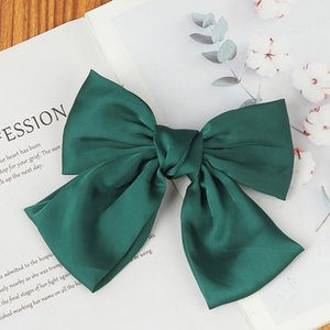 2021 Fashion Cloth Bowknot Hair Clip Women Hair Bobby Pins Fashion Jewelry for Women Girls Will and Sandy New
