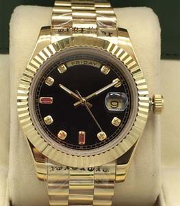 Neue Automatische mechanische Uhr für Männer und Frauen Größe 41mm Saphir Spiegel Wasserdichte Gold Mechanische Uhr Männer Sports Mechanische Uhr