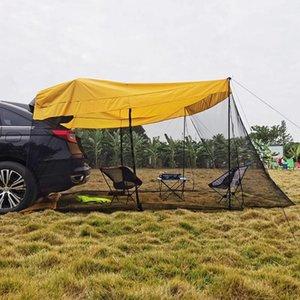 Палатки и укрытия Автомобильная палатка багажника Водонепроницаемый Авто Бегун Задний удлинитель на свежем воздухе для самостоятельной вождения Туризма Кемпинг Хвост для пикника