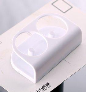 Elektrische Zahnbürste Halter weiße elektrische Zahnbürste-Ständer Dual-Bürstenhalter-Support-Anzug für Oral B