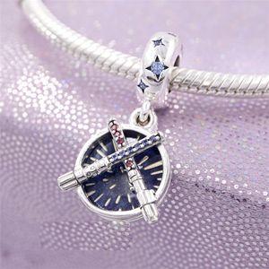 Charmes de bracelet S925 STARLING STAR STAR SHEIGHTSABER PANNE PANNE PERLE DE CHARME CONSEILLE EUROPEEN PANDORA BRACELET COLLIER BIJOUX FABRANT
