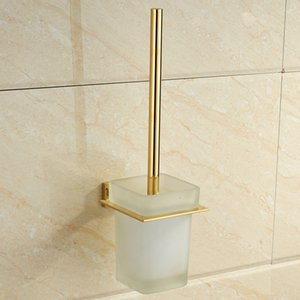2021 New Modern 304 Zirconium Polished Gold Holder Stainless Steel Vessel Scope Shelf Mounting Sanitary Bathroom Hardware V038 0fp7