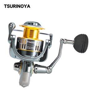 Tsurinoya Fishing Reel FS 4000 5000 9 + 1BB 최대 끌기 11kg 낚시 미끼 회전 피더 릴 바닷물 회전