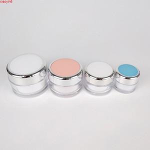 Clear Beauty Stream Cream JARS Pink White Round 15G 20G 40G 50G пластичная маска для глаз Гелевые колодки горшки 10 шт. / Лот