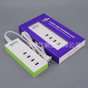 Multi function creative USB plug in charger patch panel with USB wiring