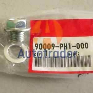 New Engine Oil Pan Drain Plug Bolt Washer M14X12mm 90009-PH1-000 For HONDA ACCORD CIVIC CRV ODYSSEY STREAM 90009PH1000 SP30W