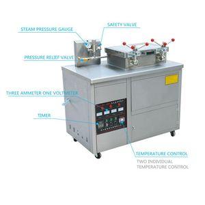 Gıda İşlemcileri Patates Cipsi Kızartma Makinesi Bütün Ördek / Tavuk Broasted Derin Basınç Fritöz