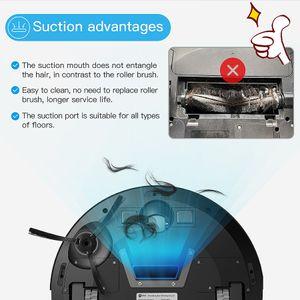 Large In Stock Lefant Robot Vacuum Cleaner Auto Robotic WiFi App Alexa Self-Charging Super Quiet Mini Cleaning Robot Sweeper M201