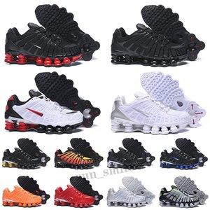 Shox TL R4 ENIGMA HOMMES FEMME FEUILLES chaussures triple blanche Sunrise Sunrise Vitesse Rouge Viotech Mens Femmes Baskets Sports Sneakers Sneakers