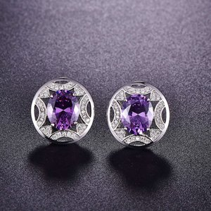 HBP fashion luxury classic round super flash anti drilling, hollow earrings, new 2021