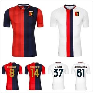 2020 New Genoa Cricket Soccer Jersey Gumus Pinamonti Kouame Romero Pandev Schone Personnalisé 20 21 Home Away Gênes Chemise de football Gênes CFC