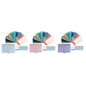 Cash Budget Envelope Wallet , 12 Perforated Vertical Opening Envelope, Binder Note for Budgeting and Saving Money