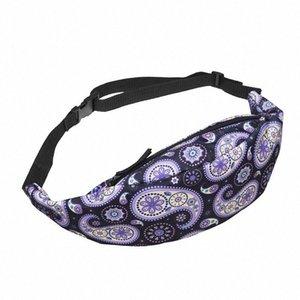 Roxo ameba cintura sacos de caixa de bolso bolsa de ombro bolsa de cintura bolsa bolsa para senhoras mulheres moda fanny pacotes bagas de cinto messeng h3xd #