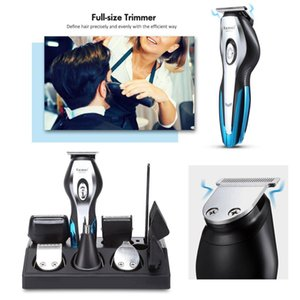 hair clipper trimmer men's beard shaver electric Hair Clipper hair trimmer nose trimmer multifunction shaver cordless haircut 5 210302