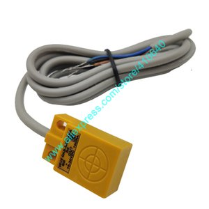 Mini Size OMCH Square Proximity Switch GKB-M0524NA 3 Wire NPN Normally Open 10 to 30V Sensor For Metal Material 1100 mm Cable