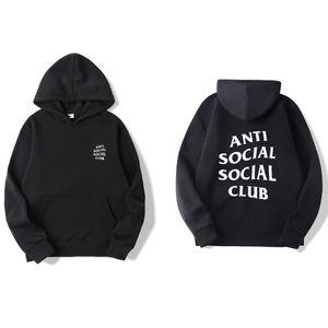 Chao Brand Anti Social Club Sweater Men's Assc Hoodie