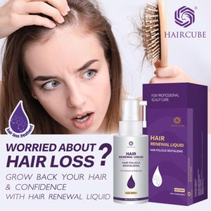 2Pcs HAIRCUBE Hair Rapid Growth Essence Anti Hair Loss Dense Hair Repair Damage Serum Natural Organic Care ProductsScouts