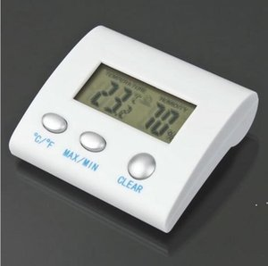 Digital LCD Temperature Humidity Hygrometer Thermo Weather Station Termometro Reloj thermal Imager Humidometer OWE4802