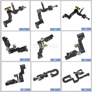 Front Camera with Sensor Proximity Light and Microphone Flex Cable Replacement for iPhone 5 5s 5c 6 6s 6plus 7 8 7plus 8plus