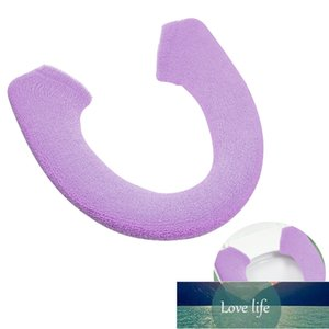 Warm Thicken Toilet Seat Covers Button Style Toilet Seat Cushion Mat Pad (Purple) Factory price expert design Quality Latest Style Original Status