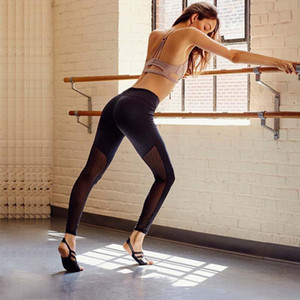Sportswear Women Leggings Sexy Mesh Patchwork Women Yoga Pants Slim Elastic Fitness Ladies Yoga Pants Hips Push Up