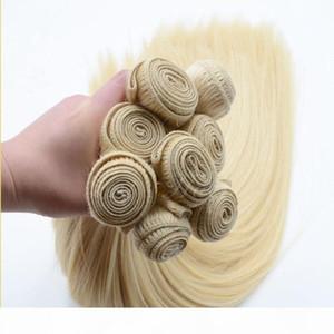 ELIBESS HAIR -Raw unprocessed virgin human hair extension 613 color 4 bundles 60g pcs 240g 10''-28'' blonde human hair w