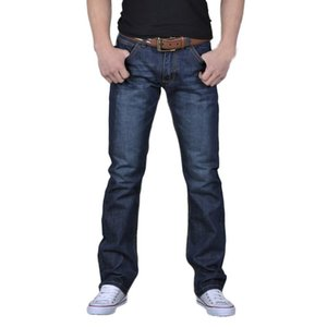 2021 Cotton Jeans Men High Quality Non Ripped Stretch Denim Classic Trousers Soft Mens Pants Autumn Jean Hip Hop Style Hot Sell