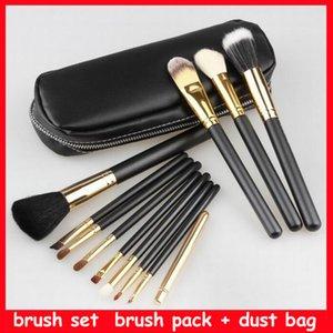 makup brush M 12pcs Powder Foundation Brush Blush Blending Eyeshadow Lip Cosmetic Eye Make Up Brushes Kit Tool