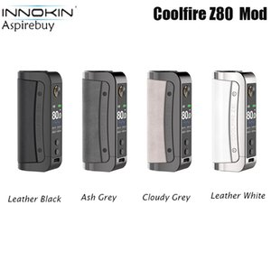 Innokin CoolFire Z80 Mod 80W Max Output Powered by Single 18650 Battery FØ VV VW Mode with 0.003s Ignition Speed fit Zenith II Tank Vape Authentic