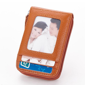 HBP Card Holders of custom-made leather card bags for ladies and gentlemen size 11cm*1.5cm*7cm