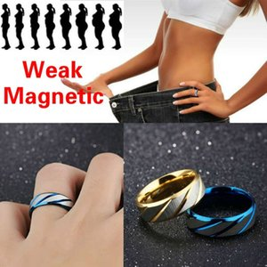 Aço inoxidável Medical Weight-Loss Inner Arc Double Beveled Pattern Cruz Sand Ring