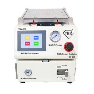 TBK TBK208 450W 3 in 1 Separazione Laminazione della macchina di defaming Schermo curvo Premendo macchina Macchina per laminazione OCA
