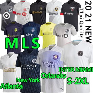 20 21 MLS Soccer Jersey Inter Miami La Galaxy FC Minnesota DC United New York Red Orlando City Bulls Atlanta Montreal Impace Футбольная футболка