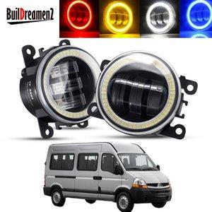 Other Lighting System 2 X Angel Eye Fog Light Assembly For Master II 1998-2010 Car Front Bumper LED Lens DRL Daytime Running Lamp H1