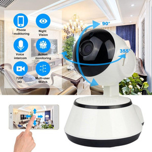 Wifi IP Camera Surveillance 720P HD Night Vision Two Way Audio Wireless Video CCTV Camera Baby Monitor Home Security System JK01
