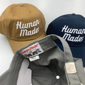 2020Human Made Embroidery Baseball Cap For Men Women Hip Hop Trucker Dad Hat Snapback Summer Caps Beach Golf Sun Visor Adjustable Su