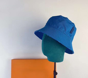 Printed Cotton Brim Bucket Hats Straw Hats Outdoor Sun Protection Hat Fishing Cap Ladies Packable Sun Cap for Travelling Cloches Hat
