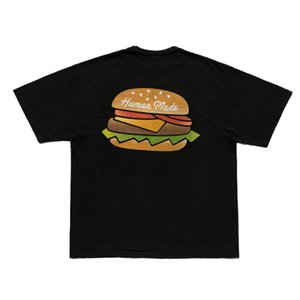 Human made #2106 hamburger round neck short sleeve T-shirt 21ss loose men's and women's tee YLR