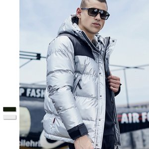 Mens Down Jacket Canadian Hooded Winter Casual Coat Thicken Men Clothing Solid Outdoor Fashion Men Jacket Casual Loose Outerwear