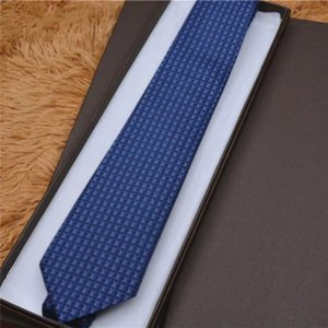 2021 Tie 100% silk embroidery stripe pattern classic bow tie brand men's casual narrow ties gift box packaging 8752